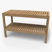 IKEA Molger Bench 3d model