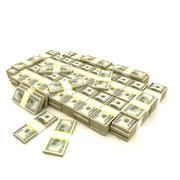 Montón de dinero (1) modelo 3d