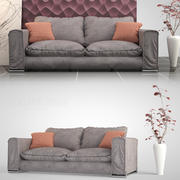 Italian Sofa 01 3d model