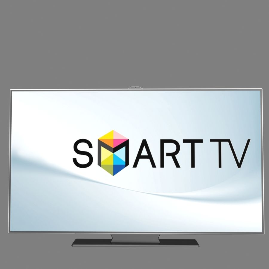 Smart TV royalty-free 3d model - Preview no. 7