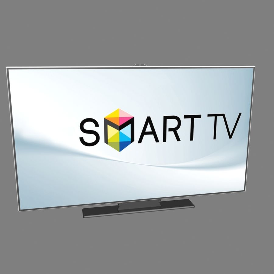 Smart TV royalty-free 3d model - Preview no. 1