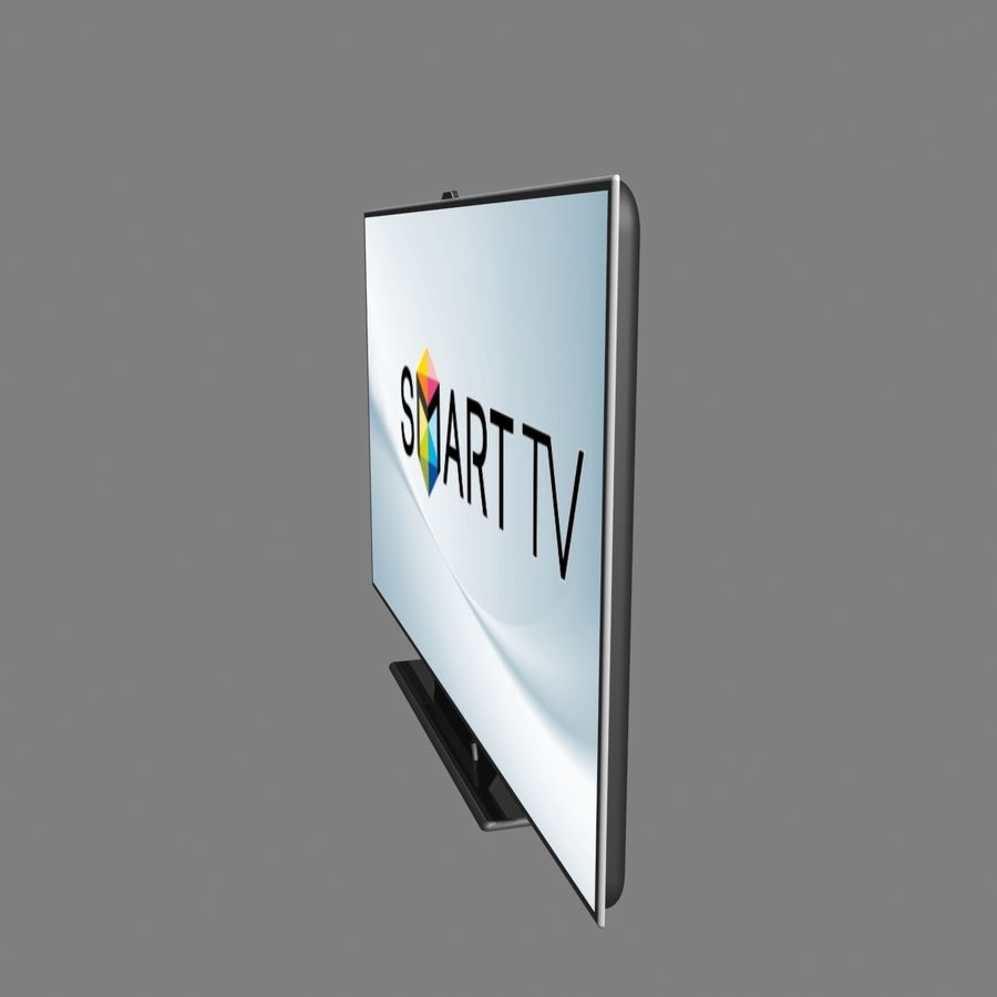 Smart TV royalty-free 3d model - Preview no. 2