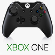 Xbox One-controller 3d model