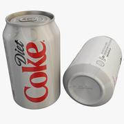 Diet Coke Can 3d model