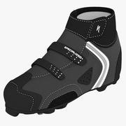 Mountainbike-Schuhe 3d model