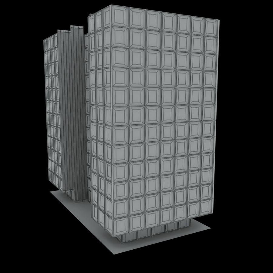 12层建筑 royalty-free 3d model - Preview no. 11