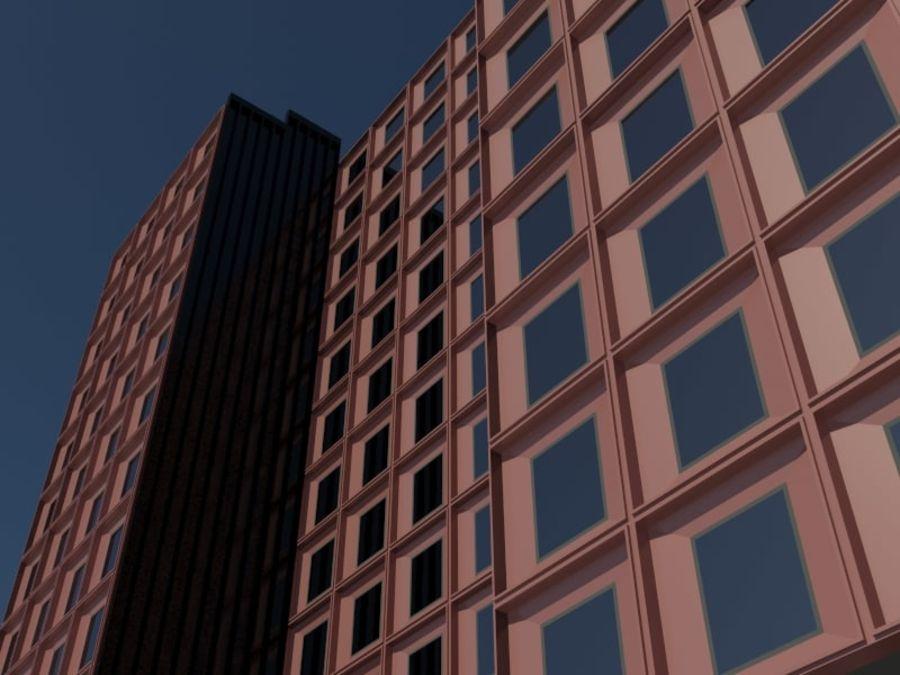 12层建筑 royalty-free 3d model - Preview no. 6