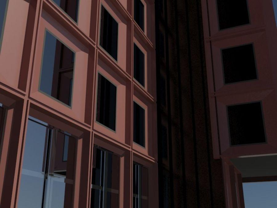 12层建筑 royalty-free 3d model - Preview no. 8