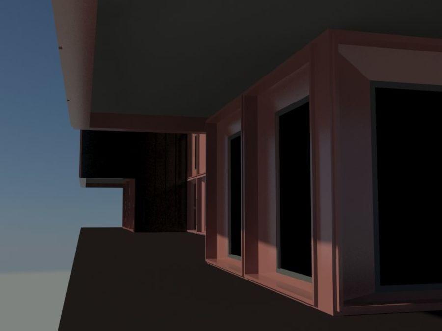 12层建筑 royalty-free 3d model - Preview no. 7