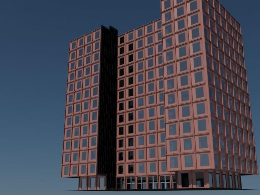 12层建筑 royalty-free 3d model - Preview no. 1