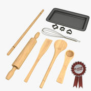 Outils de cuisson 3d model