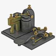 Chave de telégrafo 3d model