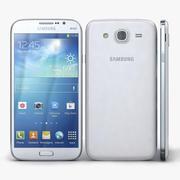 Samsung Galaxy Mega 5.8 I9150 & I9152 White 3d model