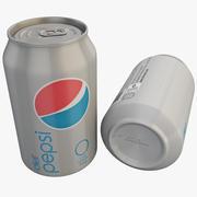 Diet Pepsi Can 3d model