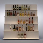 Set of Bottle 3d model