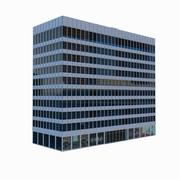 Office Building 10 Story 3d model