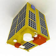 Primeira missão de minissatélites da NASA 3d model