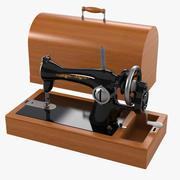 Máquina de costura 3d model