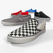 Slip on Shoe 3d model