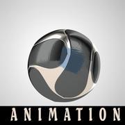 Animação de futebol 3d model
