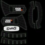 Gyro skruvmejsel svart och decker BDCS40G 3d model