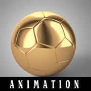 Animação de futebol 2 3d model