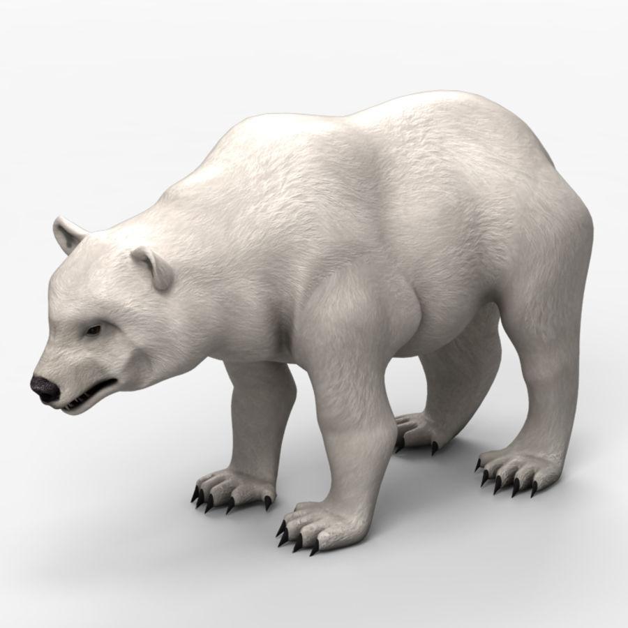 Urso baixo poli 2 royalty-free 3d model - Preview no. 1