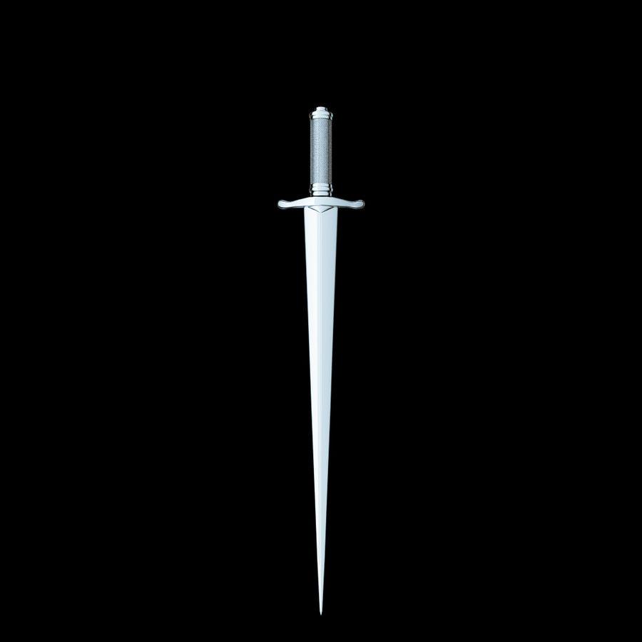 Меч royalty-free 3d model - Preview no. 3
