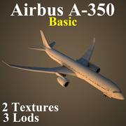A350 Basic 3d model