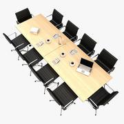Mesa de conferencia V2 modelo 3d