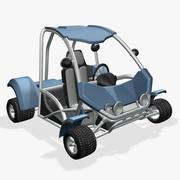 Багги Тун Авто DSR 3d model