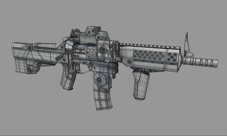 돌격 소총 royalty-free 3d model - Preview no. 13