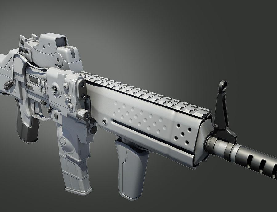 돌격 소총 royalty-free 3d model - Preview no. 15