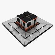 Futuristische Containers 3d model