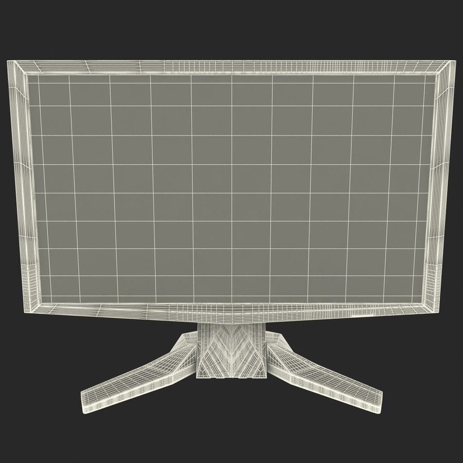 Acer LCD Monitor G24 royalty-free 3d model - Preview no. 14