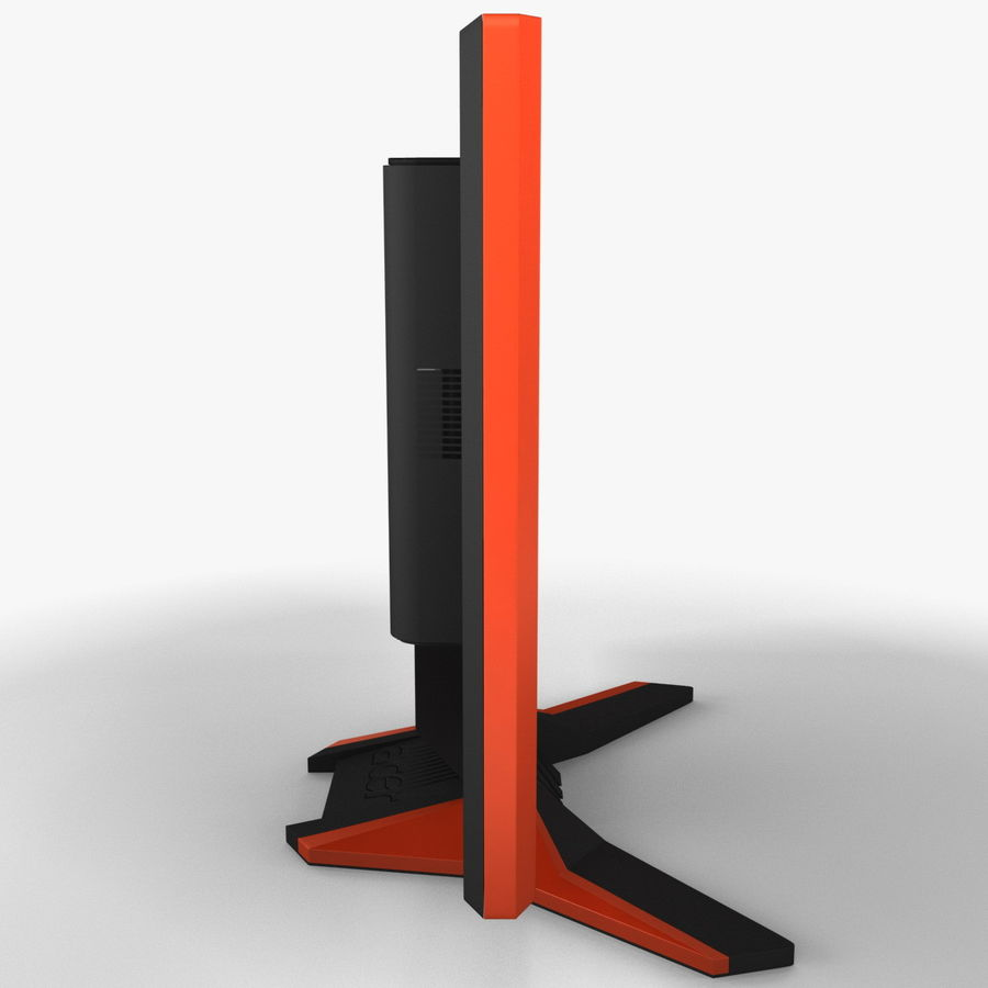 Acer LCD Monitor G24 royalty-free 3d model - Preview no. 5