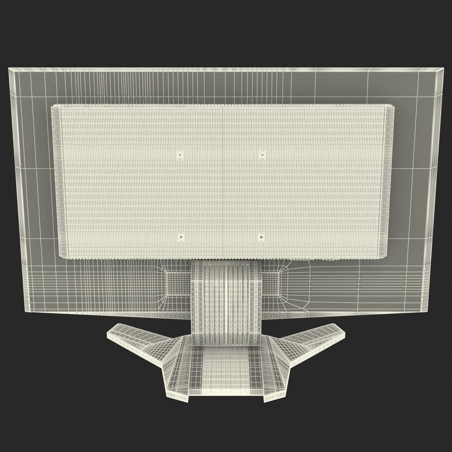 Acer LCD Monitor G24 royalty-free 3d model - Preview no. 18