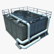 Large Air Conditioning Unit 3d model
