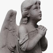 Statua anioła 3d model