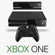 Kompletny zestaw Xbox One 3d model