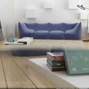 levande Tavolini joker soffa 3d model