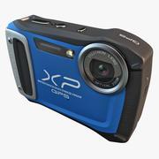 후지 필름 XP170 컴팩트 디지털 카메라 블루 3d model