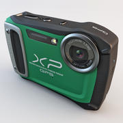 후지 필름 XP170 컴팩트 디지털 카메라 그린 3d model