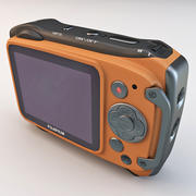 후지 필름 XP170 컴팩트 디지털 카메라 오렌지 3d model