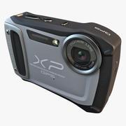후지 필름 XP170 컴팩트 디지털 카메라 실버 3d model