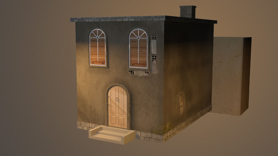 città royalty-free 3d model - Preview no. 5