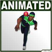 板球运动员CG(保龄球) 3d model