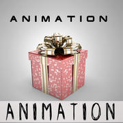 Animation Gift Box 3d model
