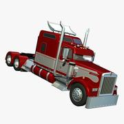 Kenworth W900 Aerocab 3d model