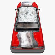 Yıkılan Araba 3 3d model